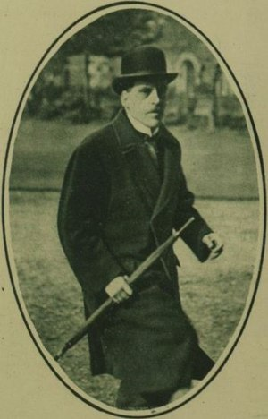 Frederick Hamilton-Temple-Blackwood, 3rd Marquess of Dufferin and Ava - The Marquess in 1921