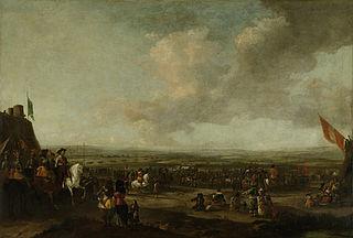 Frederik Hendrik at the surrender of Maastricht, 22 August 1632