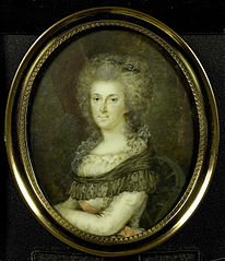 Frederika Sophia Wilhelmina (Wilhelmina; 1747-1820), prinses van Pruisen. Echtgenote van prins Willem V