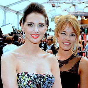 Serial (Bad) Weddings - Frédérique Bel and Élodie Fontan at the 2014 Cannes Film Festival.
