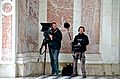 French crew filming, Versailles 28 May 2014.jpg