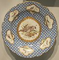 French soft-paste porcelain plate, c. 1755, Chantilly, Honolulu Museum of Art.JPG
