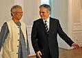 Friedensnobelpreisträger Yunus trifft Bundeskanzler Faymann (3693302913).jpg