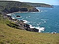 From Mussel Point Over Wicca Pool and Porthzennor Cove to Zennor Head and Gurnard's Head beyond - panoramio.jpg