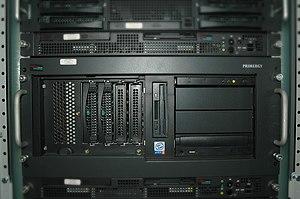 Primergy - Older Fujitsu Siemens PRIMERGY line of x86 servers