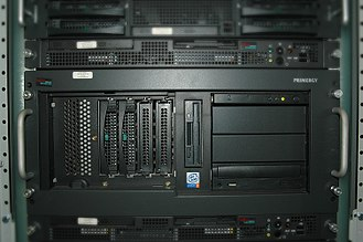 Primergy - Older Fujitsu Siemens PRIMERGY line of x86 servers