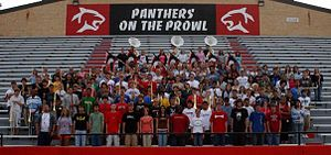 Great Bend High School - The 2005–2006 Panther Marching Band