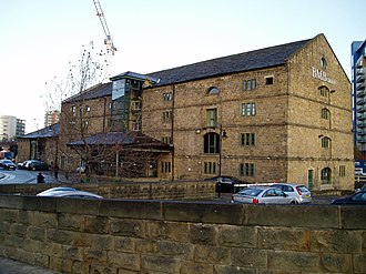 Granary Buildings, Leeds - Image: GB Front