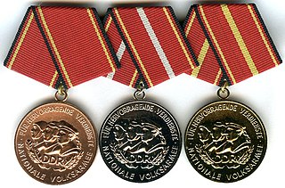 Distinguished Service Medal of the National Peoples Army