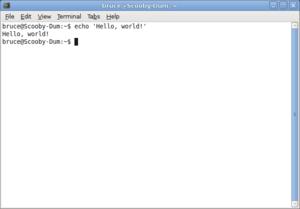 Headless computer - a virtual terminal (gnome-terminal)