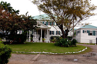 Government House, Belize - Former Government House in 2006