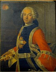 portrait of Gabriel Archange de Suau