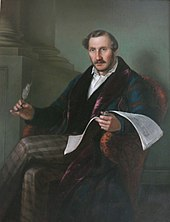 Gaetano Donizetti(Portrait by Giuseppe Rillosi) (Source: Wikimedia)