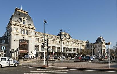 Comment aller à Gare De Toulouse-Matabiau en transport en commun - A propos de cet endroit