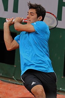 Cristian Garín Chilean tennis player