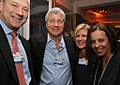Gary Cohn, president and COO, Goldman Sachs; James Dimon, chairman, president and CEO, JP Morgan; Mary Callahan Erdoes, CEO, JP Morgan Asset Management; Dina Habib Powell, global head of corporate engagement, Goldman Sachs.jpg