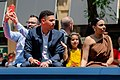 Gary Sánchez during 2019 MLB All-Star Red Carpet Parade (48266210226).jpg