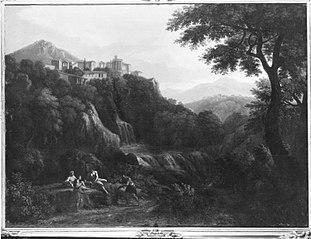 Tivoli mit Vestatempel (Nachahmer)
