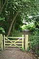 Gate on the path - geograph.org.uk - 1422653.jpg
