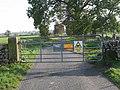 Gated road near Moor Farm - geograph.org.uk - 272417.jpg