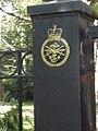 Gatepost at Sandringham - geograph.org.uk - 2098476.jpg