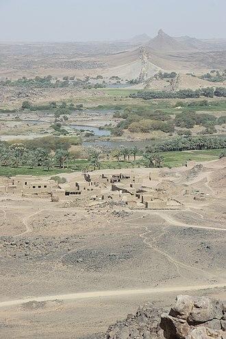 Dar al-Manasir - Dar al-Manasir as seen from the top of Gebel Musa
