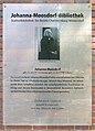 Gedenktafel Westendallee 45 (Weste) Johanna Moosdorf.JPG