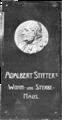 Gedenktafel am Wohn- und Sterbehaus Adalbert Stifters in Linz 1903 Johann Rathausky.png