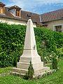 Genainville (95), monument aux morts, devant la mairie, place de l'Église.jpg