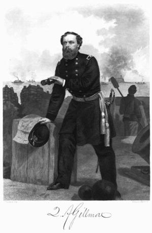 Quincy Adams Gillmore - Gillmore at Charleston Harbor, 1863
