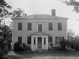 William North - Gen. William North's house in Duanesburg, built c. 1795
