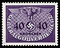 Generalgouvernement 1940 D8 Dienstmarke.jpg