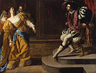 Painting by Artemisia Gentileschi