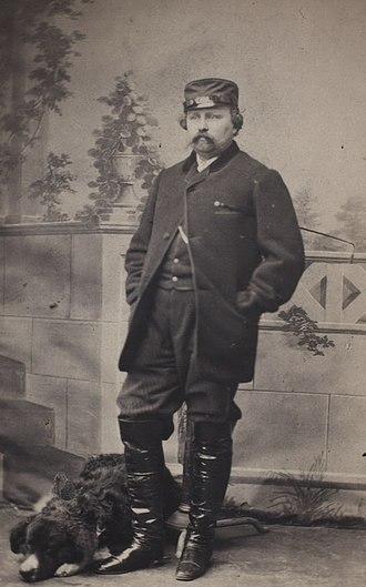 Georg Emil Hansen - Georg E. Hansen: self photographic portrait