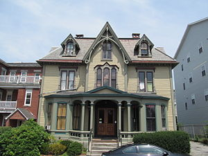 George Cobb House - Image: George Cobb House, Worcester MA