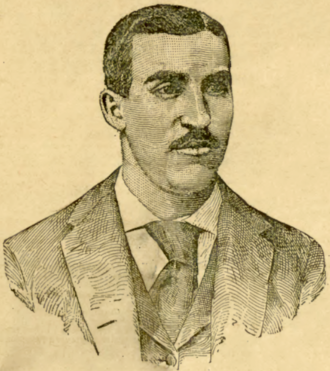 Nig Cuppy - Cuppy on the front cover of Sporting Life, February 11, 1893