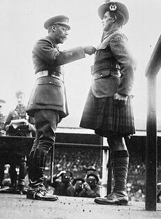 George McIntosh Recipient of the Victoria Cross