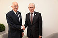 George Papandreou and Herman Van Rompuy 2011-09-30 (6198706520).jpg