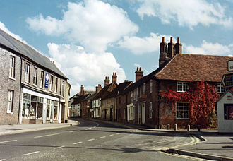 Kingsclere - Image: George Street, Kingsclere