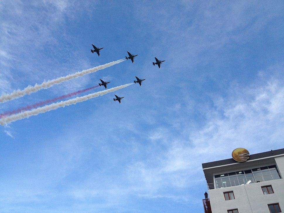 Georgian Independence Day parade, 2012-10