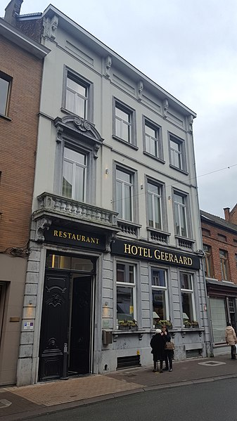 Hotel Geeraard, Geraardsbergen, België