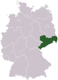 Sachsen an Däitschland