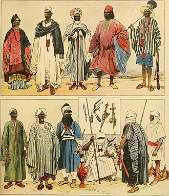Sahel - Ethnic groups in the Sahel