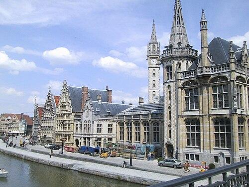 Lista del Patrimonio Mundial. 500px-Ghent_-_centre