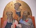 Gherardo starnina, laterali con santi da tramonte di brancoli, s. martino, 1405 circa 04.JPG