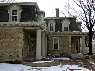 Elgin, Illinois - The 1850 cobblestone Gifford-Davidson House