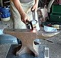 Gillman Ranch, Blacksmith Shop 5-2012 (7414695924).jpg