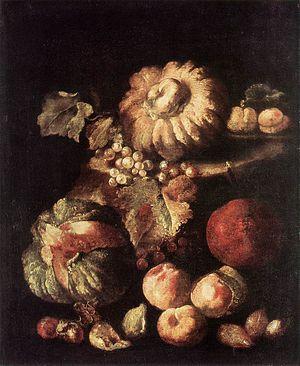 Giovan Battista Ruoppolo - Image: Giovanni Battista Ruoppolo Fruit Still Life WGA20532