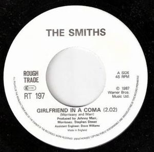 "The Smiths - The single for ""Girlfriend in a Coma"""