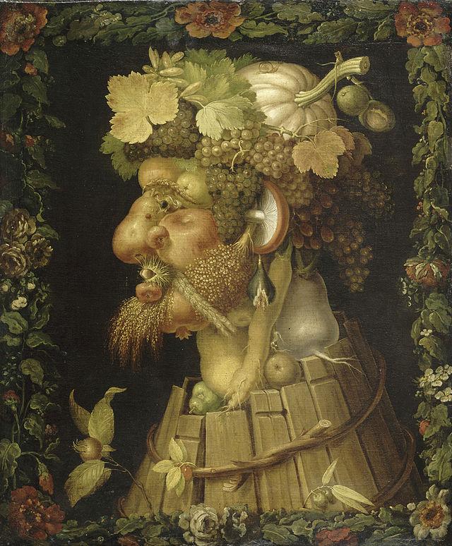 Doux et tendre automne! dans La Galerie d'art 640px-Giuseppe_Arcimboldo_-_Autumn%2C_1573